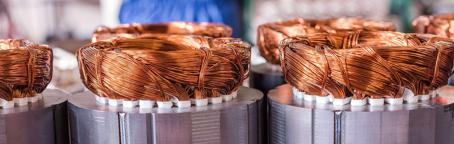 Copper winding
