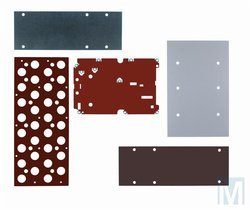 Adapter plates for the machine manufacturing industry