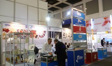 Dr. Dietrich Müller GmbH at CWIEME 2012: A major success of a common ground shared stand.
