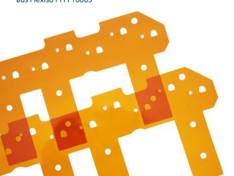 Elektronik-Isolation aus Polyimidfolie Flexiso PI FI 16005