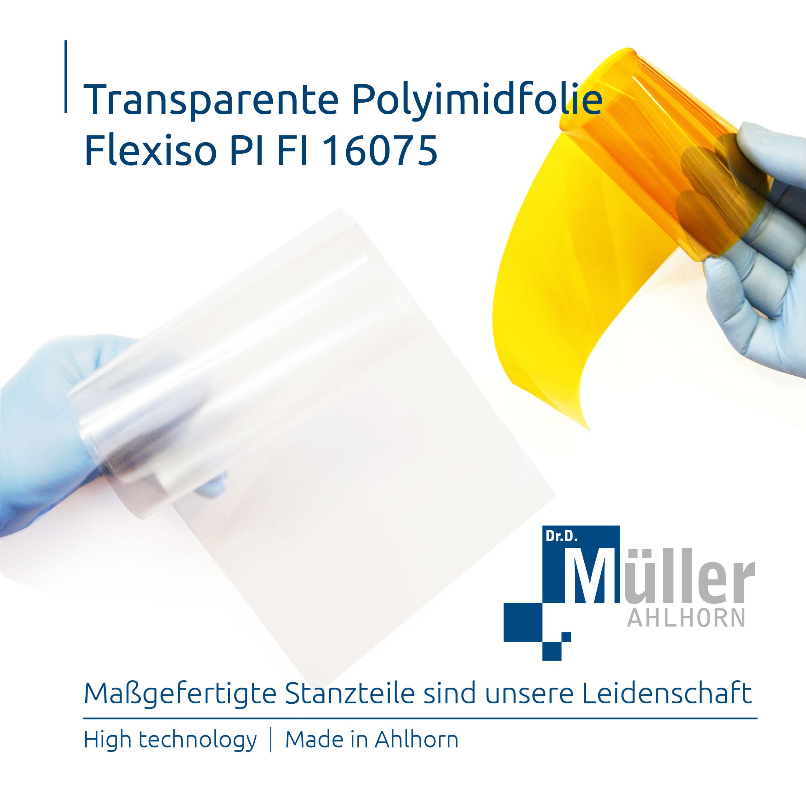 Polyimidfolie Flexiso PI FI 16075
