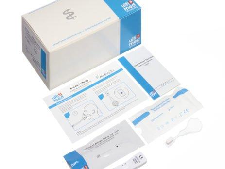 Corona-Test, Covid19-Antigen-Schnelltest, Covid19-Antigen-Schnelltests mit Speichelabstrich